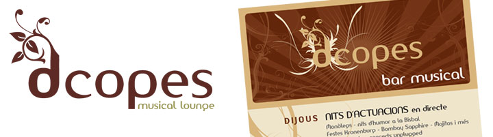 Logotip - dcopes - music lounge