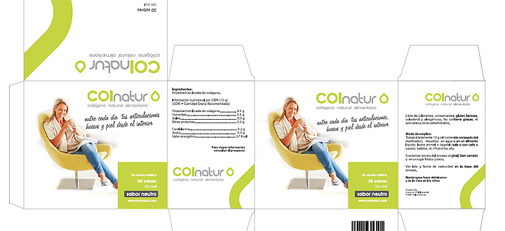 packaging - COLNATUR - colàgen natural alimentari